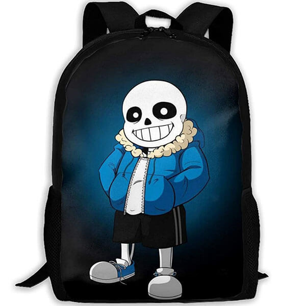 3D Casual Undertale Sans Backpack
