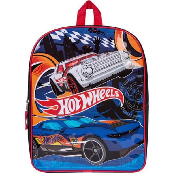 Boys Hot Wheels Race Cars Backpack