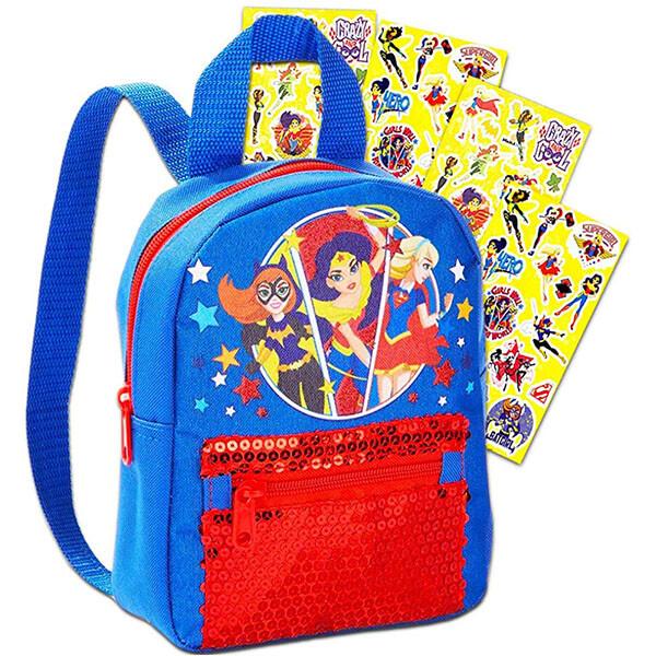 Preschooler Supergirl Batgirl Backpack
