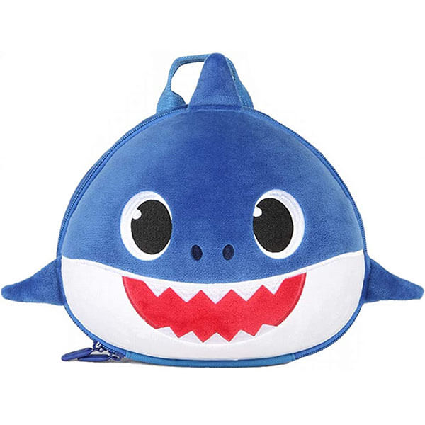 Toddlers Baby Shark Backpack with Leash