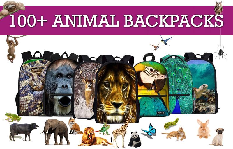 Animal Backpacks