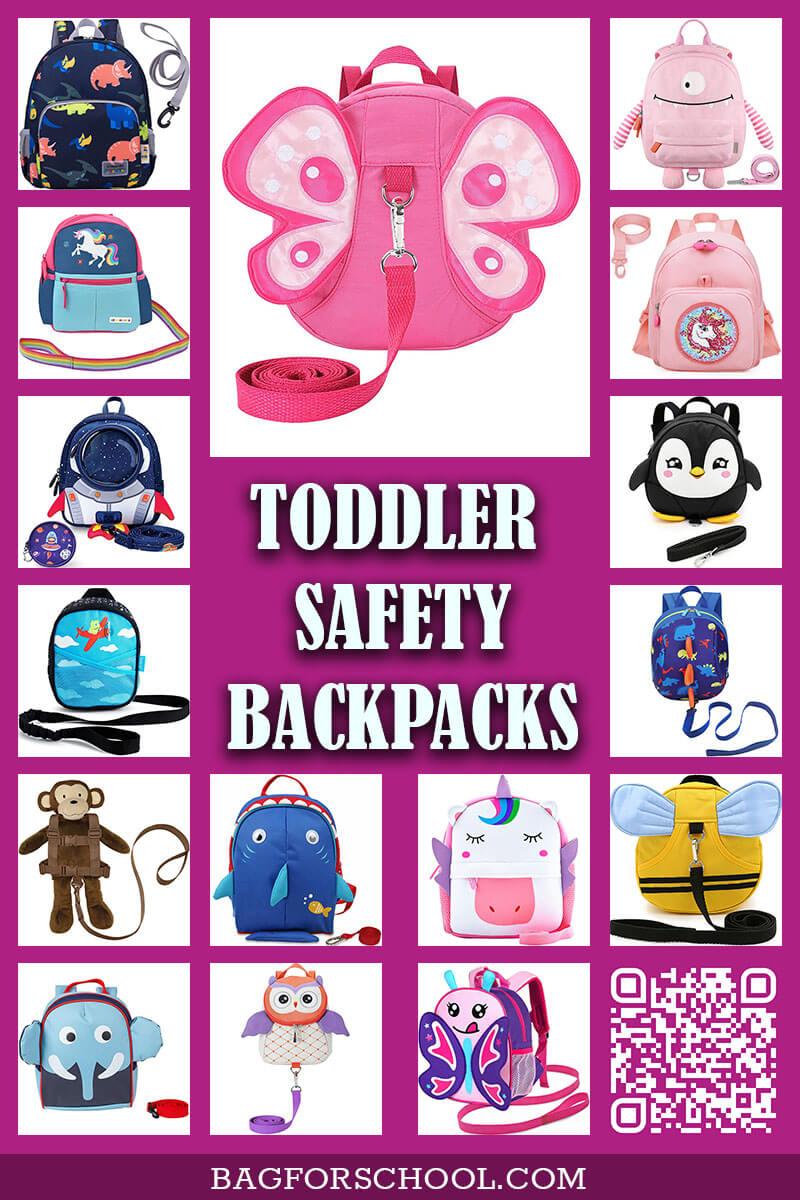 Toddler-Safety-Backpack