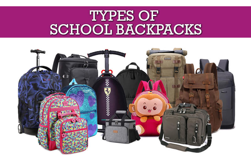 Types of School Backpacks