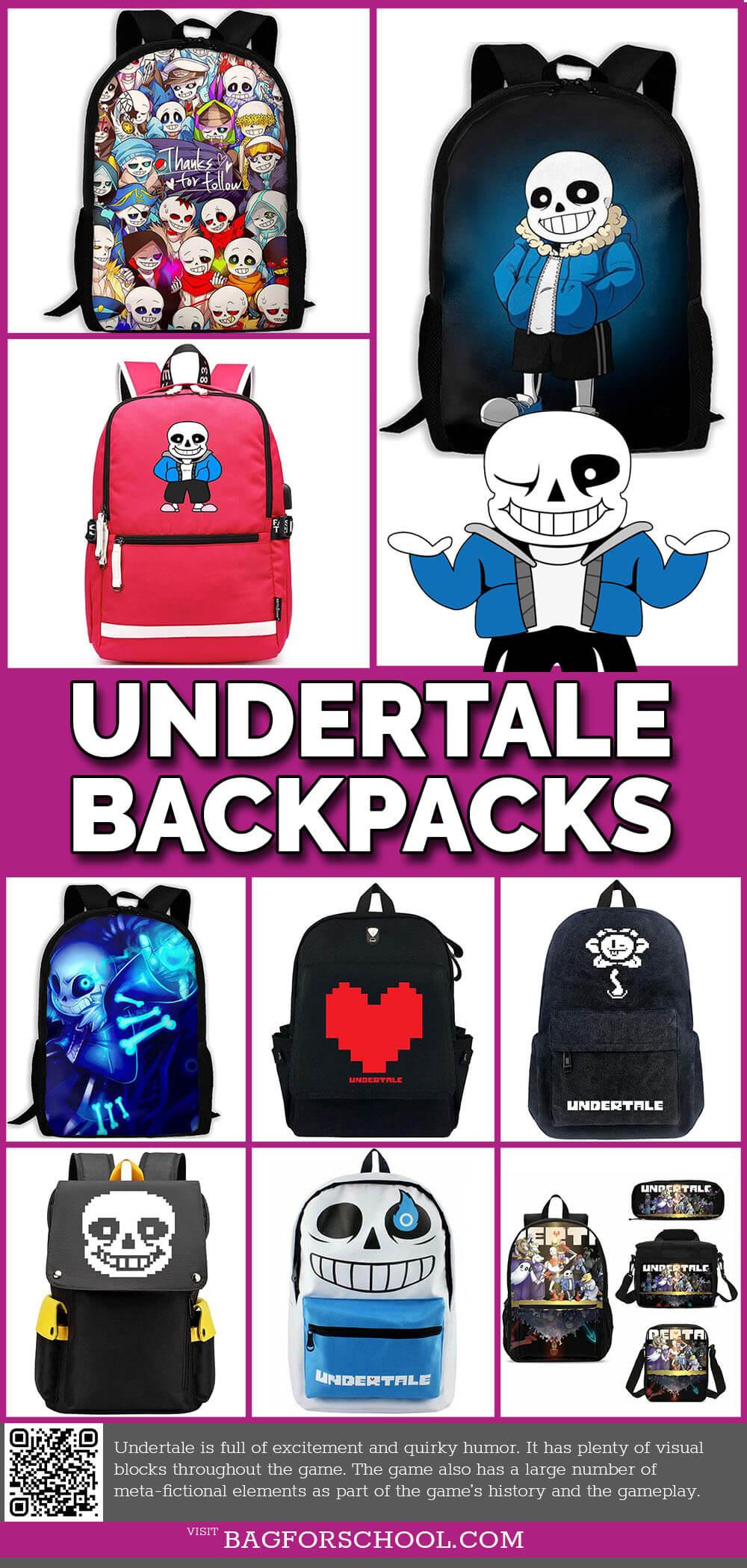 Undertale Backpacks